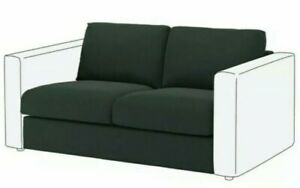 BNIB IKEA Vimle sofa 2 Seat Section Cover - Gunnared Dark Green 703.510.42