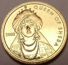 Somalia 100 Shillings, 2002 Gem Unc~The Queen Of Sheba~Only Year Ever Minted~F/S