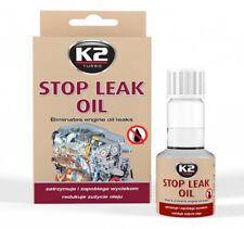 K2 Stop Leak Oil Ölverlust Stop Additiv stoppt Öllecks Diesel und Benzin Motoren