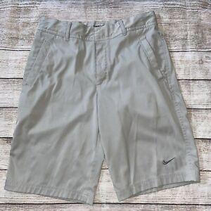 nike golf gray shorts kids L