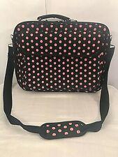 Laptop Briefcase Computer Bag Business Case Portfolio Padded Shoulder Strap