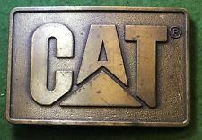 Caterpillar Tractor Cat Diesel 1982 Belt Buckle In Original Packaging vintage