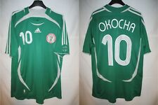 Maillot NIGERIA 2006 OKOCHA n°10 vintage ADIDAS collection shirt trikot camiseta