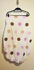 Purple and Chocolate Polka Dots Sweet Jo Crib Sheet