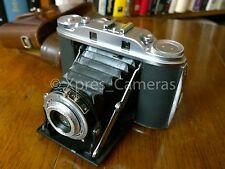 AGFA ISOLETTE III RANGEFINDER FOLDING 120 ROLL FILM CAMERA AND CASE