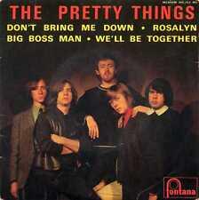 """PRETTY THINGS """"DON'T BRING ME DOWN"""" ORIG FR 1964 VG+/VG"""