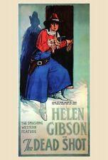 THE DEAD SHOT Movie POSTER 27x40 Mark Fenton Helen Gibson Frank Lee Frank
