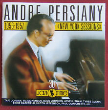 ANDRE PERSIANY  CD 1956 1957  NEW YORK SESSIONS