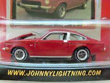 JOHNNY LIGHTNING - CHEVY THUNDER - 1973 VEGA GT (RED) - 1/64 DIECAST