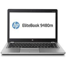 "HP EliteBook Folio 9480M 14.1"" i5-4310U 2.0GHz 4GB 180GB SSD Windows 10 Pro"