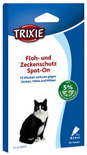Trixie Flea and Tick Protection Spot On Contents: 3×0,9 ml Item no. 25373