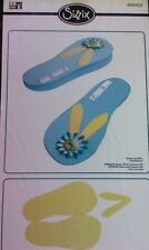 Sizzix Big Shot Pro Flip-Flops Card...Get ready for summer and beach party's.
