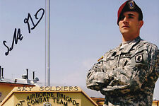 Sal Giunta SIgned Autographed 4x6 Photo CMOH MOH Afghanistan 173rd Airborne Army