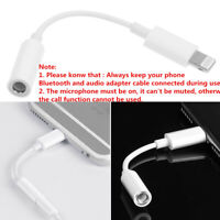 Headphone Jack Aux To 3.5mm Earphone Adapter Cable For Apple iPhone XS X 8