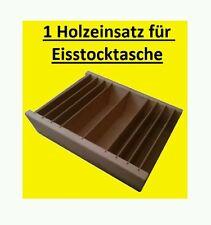 Eisstock, Holzfächereinsatz für Eisstocktaschen, Holzeinsatz