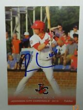 Rowan Wick autographed 2013 Johnson City Cardinals Grandstand card