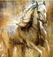 Modern Abstract Art Oil Painting -white horse(no Framed)