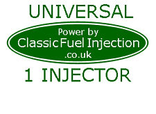 Convert your Car to Classic Fuel Injection - Complete Vehicle Kit for 1 Injector
