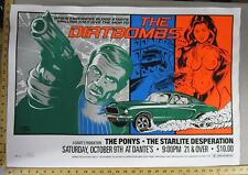 2004 Rock Concert Poster The Dirtbombs Stainboy S/N LE 150 Ponys Dante's