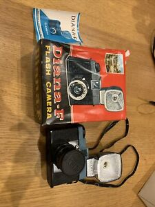 Diana-F Lomography Flash Camera with Original Strap, Manual and Box