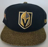 Las Vegas Golden Knights Glitter Shiny New Era NHL 9fifty Snapback Cap Hat