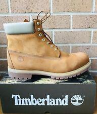 Timberland 6 Inch Premium Waterproof A1VEP Orange Wheat Men's Hiking Boots.SZ:14