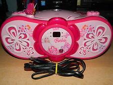 Barbie RCD 150 BB Stéréo Radio (Lecteur CD, FM/MW Tuner) - Excellent état-Classe