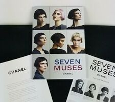 """CHANEL SEVEN MUSES HARDCOVER CATALOG 2012-2013 11 /4""""x8"""""""