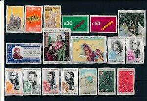 D195790(1) France 1972 Nice selection of MNH stamps