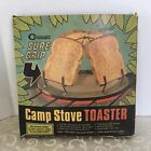 """Vtg 1971 Coghlan's Camp Stove Toaster """"Sure Grip"""" in Original Box Made in Canada"""