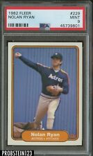 1982 Fleer #229 Nolan Ryan Houston Astros HOF PSA 9 MINT