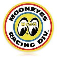 MOONEYES Racing Division Sticker Aufkleber Vintage Drag Race Nationals NASCAR