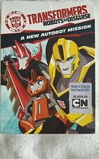 Transformers Robots in Disguise  A New Autobot Mission  DVD New