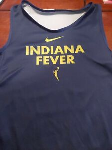 WNBA Fever woman's SMALL Jersey Reversible Blue/Gray. Nike