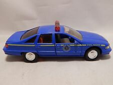 ROAD CHAMPS New York State Police 1:43 car metal 1993 chevy caprice B8