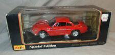 Maisto 1:18 Special Edition Red 1971 Alpine Renault 1600S MIB Diecast Car