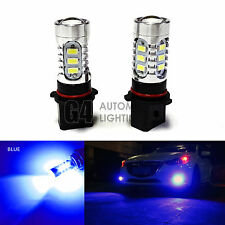 2x P13W LED Bulbs High Power DRL SMD 5730 Fog Light Projector Bulb Blue