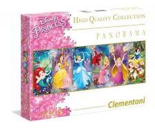 Clementoni DISNEY PRINCESS Panorama PUZZLE 1000 pieces ARIEL Rapunzel CINDERELLA