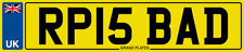 NUMBER PLATE RP INITIALS RP15 BAD REGISTRATION RP IS BAD RICK RYAN RAY ROB RJP