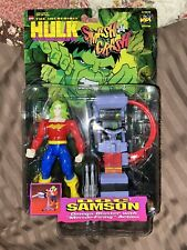 Incredible Hulk Smash and Crash Doc Samson Action Figure NIB
