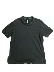 Patagonia Short Sleeve Polo Shirt Gray Men's Size XL. D2