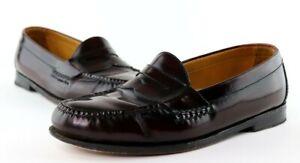 Cole Haan Dark Brown / Reddish Brown Penny Loafers Men's 8.5 D Dress Shoes