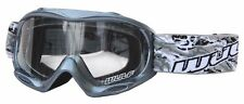 Wulfsport Kid Goggle Grey Junior MotoX Motocross Pitbike MX Gokart ATV Quad