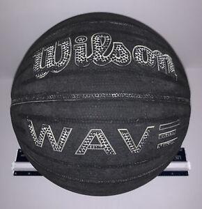 Wilson NCAA Wave Technology Basketball Ball Rubber Street Black Vintage