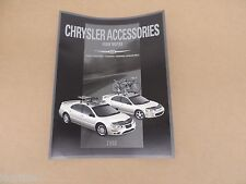 2002 Chrysler 300M Concorde Sebring Convertible Accessories Brochure catalog