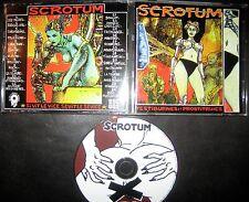 CD Scrotum Testiburnes Et Prostitruies France OI Punk Attentat Sonore Charge 69