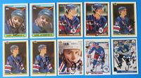 LOT OF 10 MARK JANSSENS SIGNED HOCKEY CARDS ~ TOPPS U.D. ~ 100% GUARANTEE