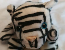 TY Beanie Babies, Blizzard the white tiger - retired 1998 - NO HANG TAG