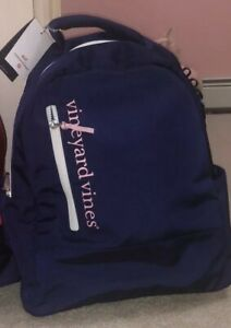 Vineyard Vines Backpack Limited Edition! Never Used! Navy And Pink
