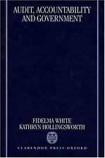 Audit, Accountability and Government by Fidelma White and Kathryn...